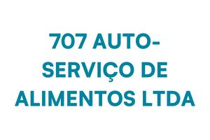 707 AUTO-SERVICO DE ALIMENTOS LTDA